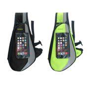 Sac loisirs et sport Vert/Gris tissu imperméable accès écouteurs
