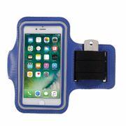 Brassard iPhone 7 sport Bleu Néoprène ultra confortable