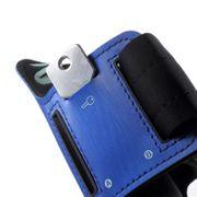 Brassard bleu Néoprène pour Asus ZenFone 3 LASER ZC551KL