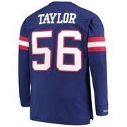 Sweatshirt Mitchell & Ness Ls New York Giants
