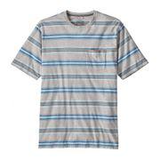 Patagonia - Squeaky Clean Pocket Hommes T-chemise (bleu/gris)