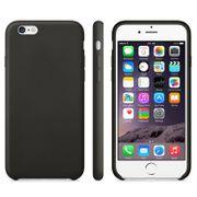 Coque écologique-Cas TPU givré anti-dérapant pour iPhone 6 et 6S (Noir)
