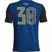 T-shirt pour enfant Under Armour Stephen Curry SC30 Reppin Shersey Bleu taille - XS (110-120cm)