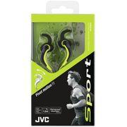 JVC Sport Ecouteurs intra-auriculaires avec fixation de l'oreille - noir-vert