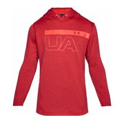 Under Armour - Tech Terry PO Graphic Hommes sweatshirt (rouge)