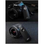 Caméra de sport-IDV 007 HD 1080P Portable Réunion d'Enregistreur d'Appareil-photo avec Clip, Novatek 99142, le Soutien de l'Enregistreur Vocal