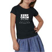T-shirt junior fille Keep Calm & Play Handball