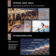 Caméra de sport- C30R de 2.0 pouces Écran 170 Degrés grand Angle WiFi Sport Caméra d'Action Caméscope Étanche Boîtier & Remote Cont