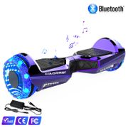 Hoverboard Colorway CX911 - Bluetooth + APP - 6.5 Pouces Violet, Gyropode Overboard Smart Scooter certifié