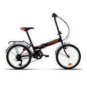 Moma Bikes, Vélo de Ville Pliant, FOLDING PARK, SHIMANO 6V