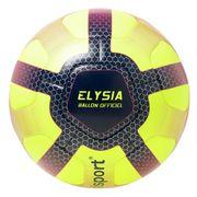 BALLON DE FOOTBALL  Ballon de Football Elysia Officiel - Jaune, bleu et rouge - Taille 5