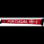 Echarpe Foot UEFA PORTUGAL Euro  Officiel qualité Prémium - unique rouge