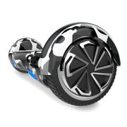 Mega Motion Hoverboard Gyropode bluetooth 6.5 pouces classique, Overboard certifié E2 camouflage