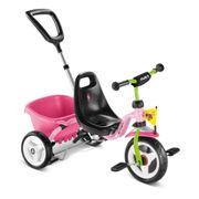 Tricycle enfant Puky CAT 1S rose vert