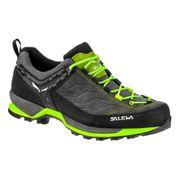 Chaussures Salewa MTN Trainer gris noir vert fluo