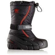 Flurry blk/red boots cdt