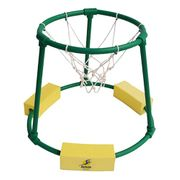 Panier basket aquatique Leisis série vert