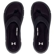 Tongs noires Homme Under Armour