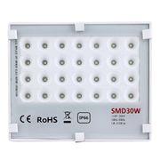 Lampe HD30W IP66 Imperméabilisent la Lumière d'Inondation de LED, 28 LEDs SMD 2835 3150 LM Diamant de la Lampe, AC 110-265V