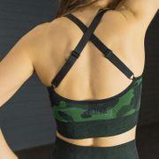 Top X-Skin - Camo Green -