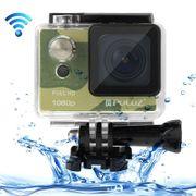 XIAOMI & Puluz- U6000 Full HD 1080P 2.0 pouces écran LCD WiFi caméscope multifonctions étanche à l'eau pour sports, chipset Novatek NT96650, objectif grand angle 175 degrés