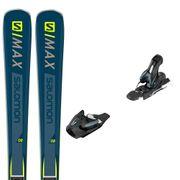 SALOMON E S/max 8 Ski+Mercury 11 L80 Fixations Homme