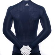 TF CHILL Homme Tee-shirt de Compression Entrainement  Marine Adidas