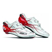 Chaussures Sidi Shot Carbon blanc rouge