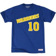 T-Shirt NBA Tim Hardaway Golden State Warriors Mitchell & ness name & numbers taille - M