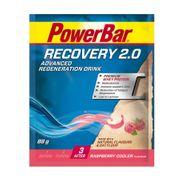 Lot de 20 Boissons PowerBar Recovery 2.0 Single Serve - Raspberry Cooler