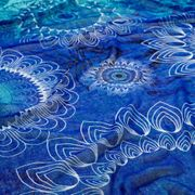 Foulard Bleu Femme Desigual