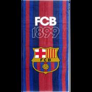 Drap de plage FC Barcelone FCB 1899 officiel  70 cm x 140 cm - unique bleu