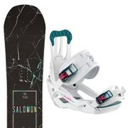 SALOMON Oh Yeah Snowboard+Spell Fixations Femme