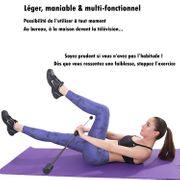 ISE Barre oscillante Multi-Fitness - pour la Maison COLORIS: Noir