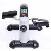 Mini vélo d'appartement pour jambs bras appareil de fitness avec écran led gris noir 78
