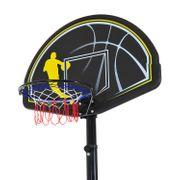 Panier de Basket-Ball sur pied amovible avec poteau panneau et roulettes hauteur reglable 1,9 - 3,05 m noir neuf 02