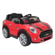 Mini Cooper voiture électrique enfants à partir de 37 mois 2 moteurs 6 V 2,5-5 Km/h phares musique télécommande