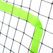 Filet de rebond de football 90L x 80l x 140H cm cible et sardines de fixation fournies noir vert neuf 53
