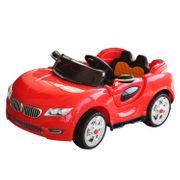 Voiture électrique enfant 2 places 12 V 3,5-7,5 Km/h 2 moteurs phares LED + bandes lumineuses fonction USB MP3 télécommande parentale