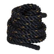 Corde d'entrainement corde ondulatoire corde de bataille 12 m Ø 3,8 cm polyester ultra résistant noir 20