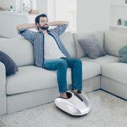 Appareil de massage Shiatsu compact pour pieds 38L x 40l x 22H cm chauffage infrarouge 5 modes P1-P5 pression air gris 81