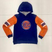 Sweat à capuche NBA New York Knicks Block Action Bleu pour enfant Taille - XL (165-175cm)