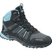 Mammut - T Aenergy Mid GTX® Femmes chaussures de randonnée (noir/turquoise)