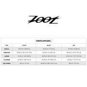 Top triathlon Zoot M Performance Full Zip noir rouge
