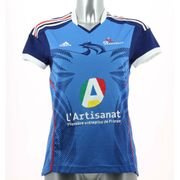 Maillots FFH Adidas Performance Replica Equipe de France Femme 2014 Domicile