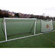 Kickster Combo - But et filet de rebond 2,4 x 1,5m