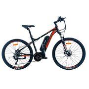 Vélo à Assistance Electrique City 27,5'' HYDROFORM E  MERCIER ORANGE