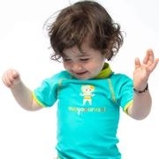 Caraïbi Mayo Parasol Ensemble T Shirt anti UV bébé et maillot couche