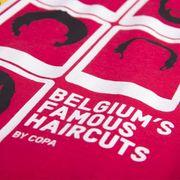 Copa Belgium Famous Haircuts