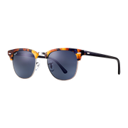 Ray-Ban Clubmaster Medium Spotted Blue Havana/Gris